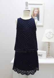 DERHY KIDS jurk - blauw