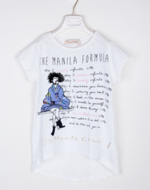 MANILA GRACE t-shirt - wit