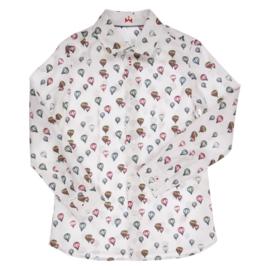 GYMP overhemd luchtballonnen - wit