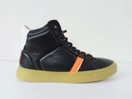 FLORENS hoge sneakers - bruin
