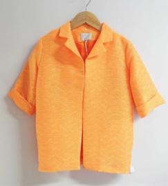 ETIKET mantel - oranje