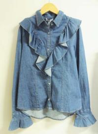 ELSY blouse - denim