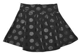 FUN&FUN jurk met bolletjes - zwart