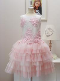 BELLA BRILLI ROMA communie / bruidsmeisje jurk  - roze