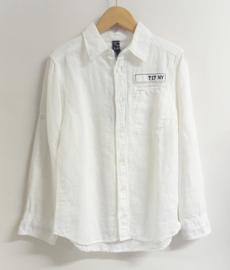 Sevenoneseven overhemd  - ecru
