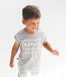 NOESER t-shirt - grijs