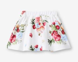 LIU-JO rok met bloemen -wit