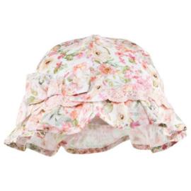 MAYORAL hoed bloemenprint - nude