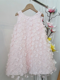LE BELLISSIME di LOREDANA communie / bruidsmeisje jurk - roze