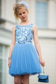 CHARLIE communie jurk - lichtblauw