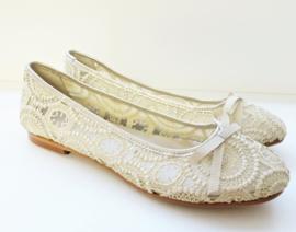 OCA-LOCA ballerina kant - goud