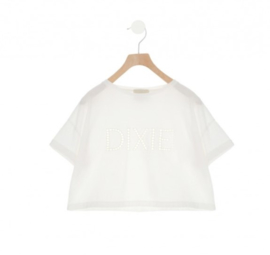 DIXIE oversized t-shirt - ecru