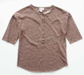 MORLEY oversized t-shirt - bruin