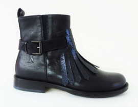 NINETTE korte laarzen - blauw
