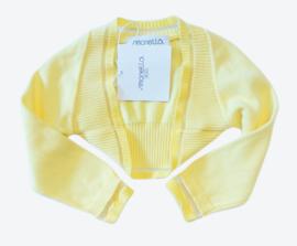 SIMONETTA bolero - geel