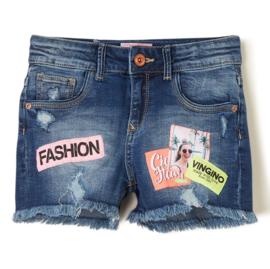 VINGINO jeans short - blauw