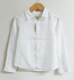 Arsène et les Pipelettes overhemd - wit