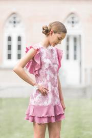 ENFANT D'AMOUR communie / bruidsmeisje jurk - paars