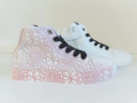KOOL hoge sneakers - wit