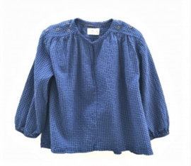 LONGLIVETHEQUEEN blouse - blauw