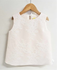La Robe Blanche by Michelle Turlinckx top - roze