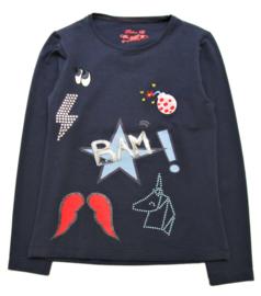 PAULINE B. t-shirt met lange mouwen - blauw