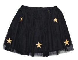 RELISH tule rok sterren - zwart