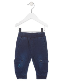 LOSAN sweatbroek - blauw