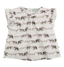 BLA BLA BLA blouse jungle dieren