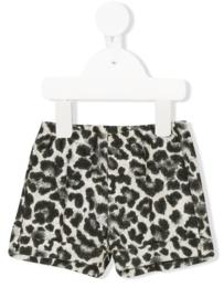 IL GUFO short - leopard print