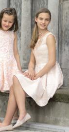 ENFANT D'AMOUR communie / bruidsmeisje jurk - poederroze