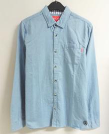 SCOTCH&SODA overhemd - lichtblauw