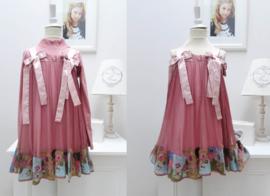 I PINCO PALLINO jurk + sous-pull - roze