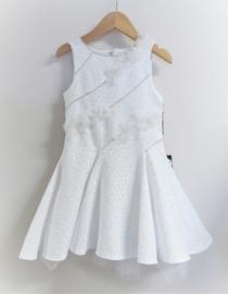 LINEA RAFFAELLI communie / bruidsmeisje jurk - wit