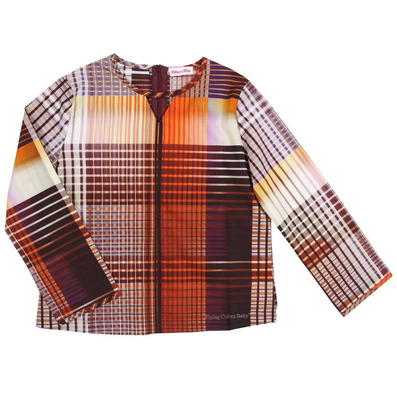 RITA co RITA blouse Tartan