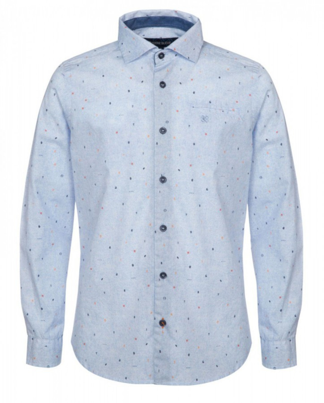TERRE BLEUE overhemd - lichtblauw