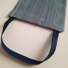 mondkapje (oude blauw- maat L)