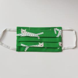 mondkapje (met luipaarden- maat XS)