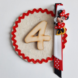 broche met Minnie Mouse