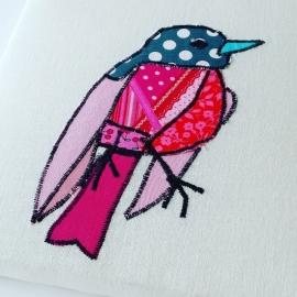 VOGEL (roze / rood)