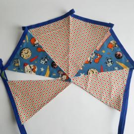 vlaggetjes met sterren en ruimte