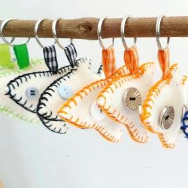 sleutelshangers  de vissen