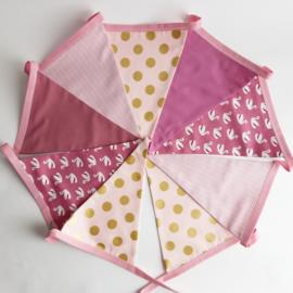 vlaggetjes (roze)