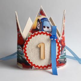 Verjaardagskroon 'Cars'