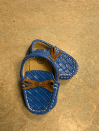 Blauwe loafers  baby