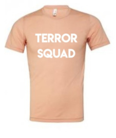 Terror squad adult tee (multiple colors)