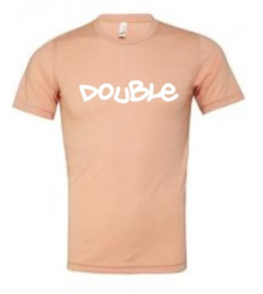 Double trouble adult tee (multiple colors)
