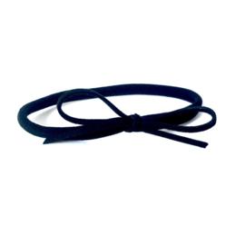 Headband black on black