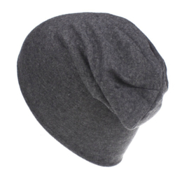 Baggy beanie dark grey