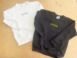 Mini name sweater